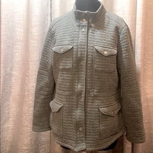 L.L Bean size large quilted bomber style jacket